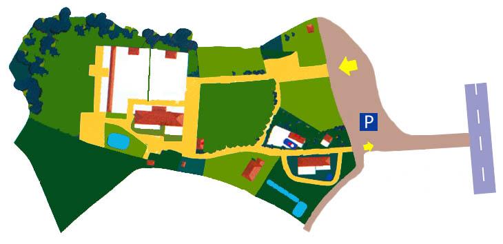 Parco degli uccelli mappa parco for Vasca per anatre